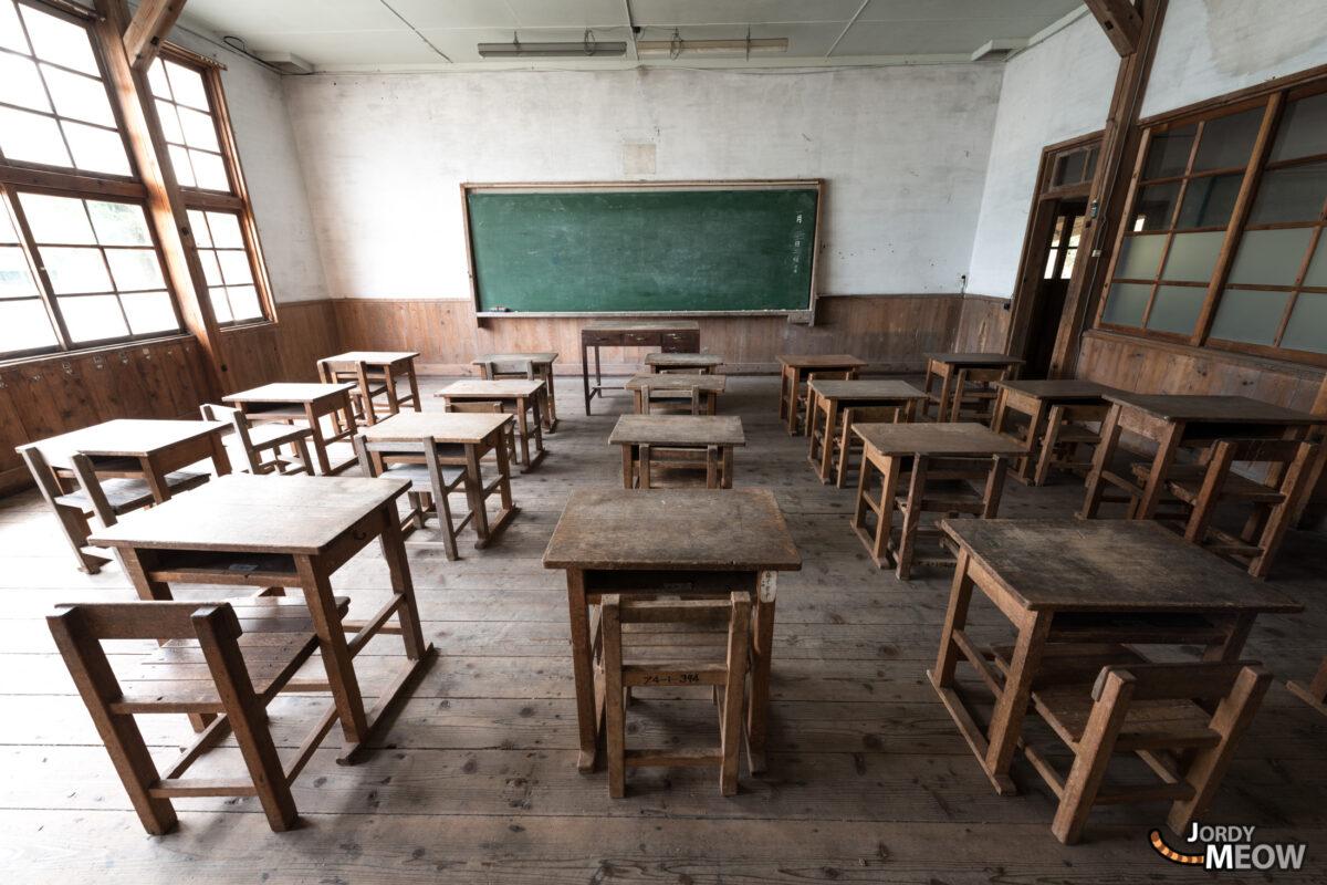 Abandoned Classroom in Ibaraki