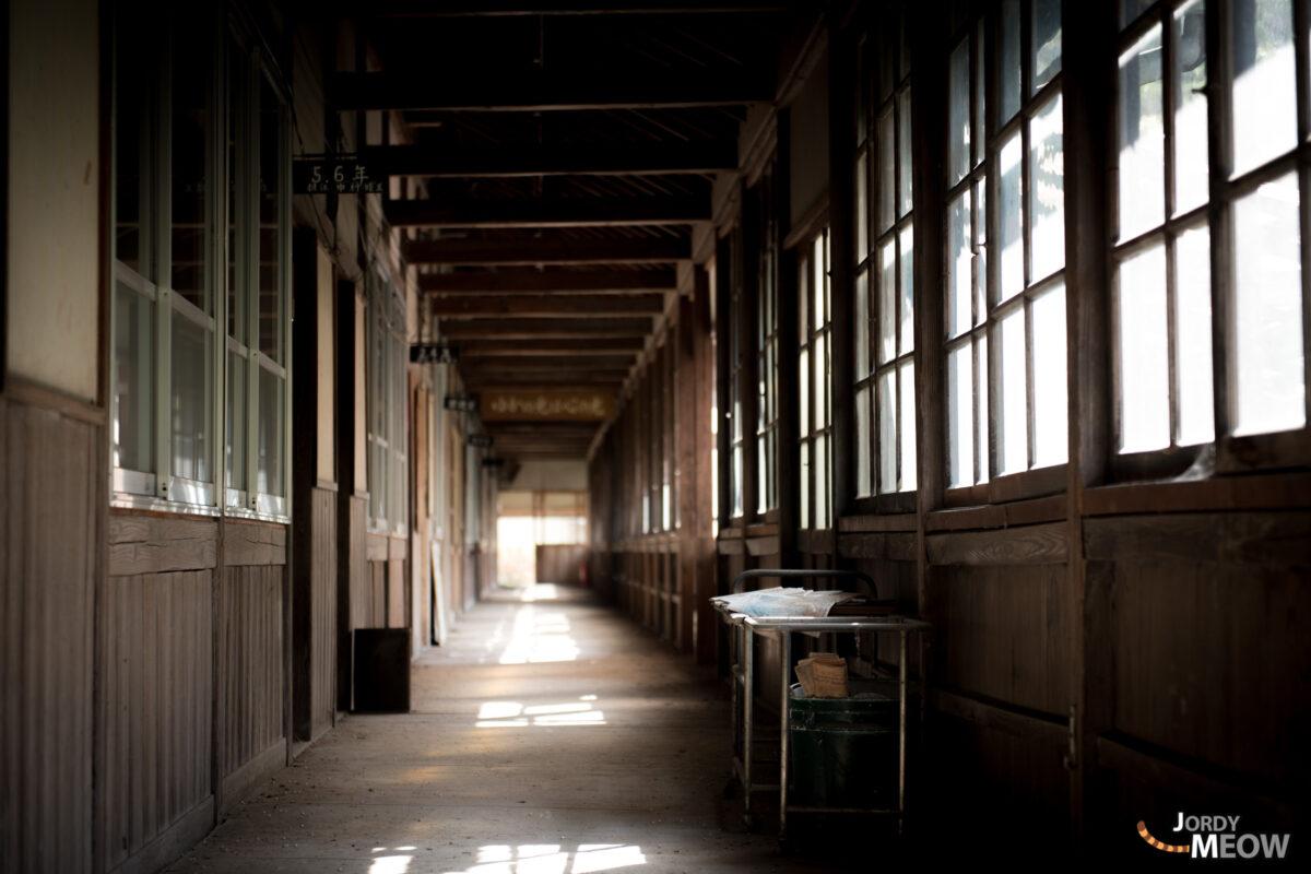 Silent School Corridor